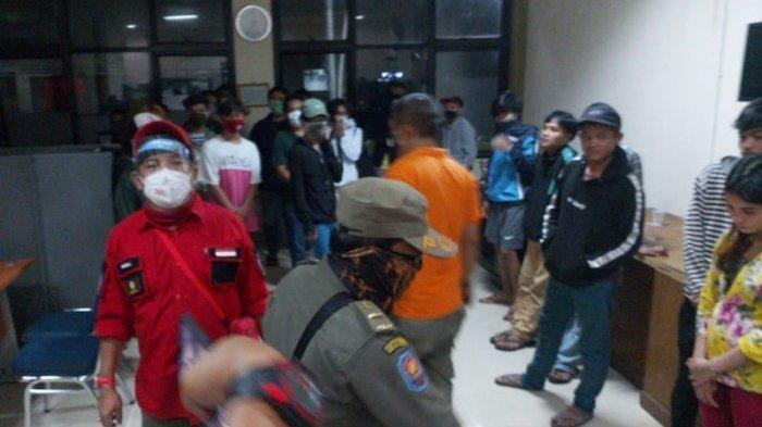 Razia Kos-kosan Pelajar di Depok yang Diduga Jadi Tempat Mesum, 50 Orang Diamankan