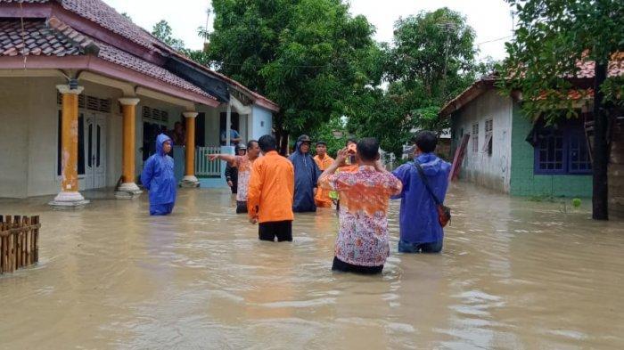 Tangkap Layar Laman BNPB 500 Rumah Terendam Banjir di Indramayu