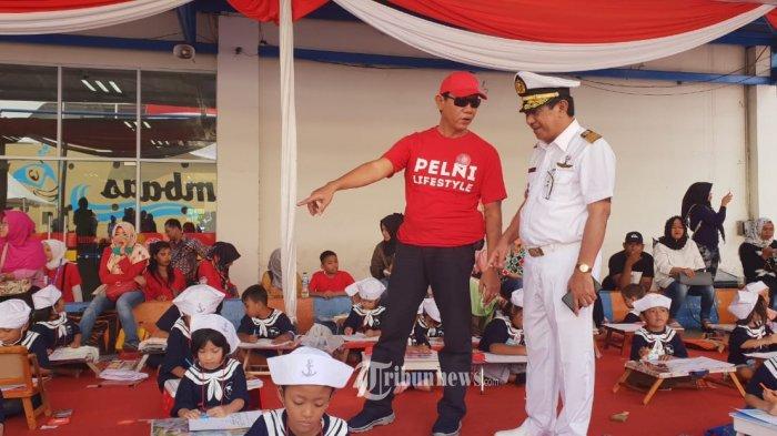 Sambut Hut Kemerdekaan Ri Ke 73 560 Anak Ikut Lomba Gambar Kapal Pelni Tribunnews Com Mobile