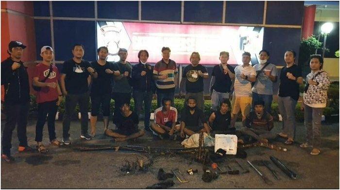5 Pria di Palembang Curi Kabel PT Telkom, Dipergoki Patroli Polisi