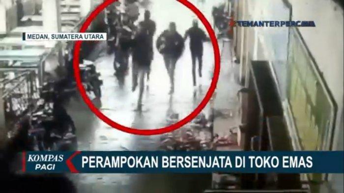 6 Fakta Perampokan Toko Emas di Medan, 5 Kg Perhiasan Digondol, Pelaku Bawa Senjata Laras Panjang