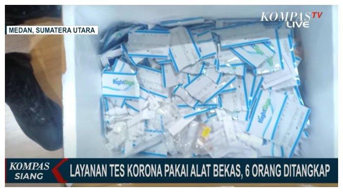 Pakai Alat Bekas Saat Layani Rapid Tes Antigen Corona, 6 Karyawan PT Kimia Farma Ditangkap