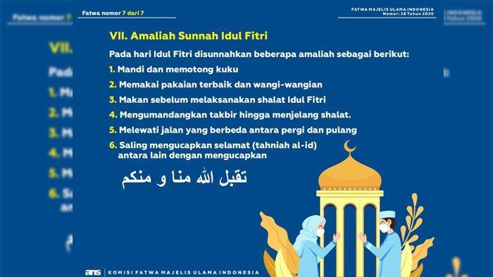 6 Sunah saat Hari Raya Idul Fitri, Mulai Memotong Kuku hingga Mengucapkan Tahniah Al-Id