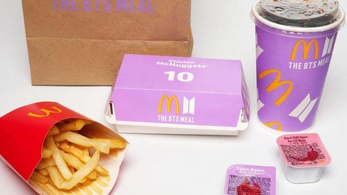 Menu BTS Meal Berhasil Dongkrak Pendapatan McDonald's hingga 57 Persen