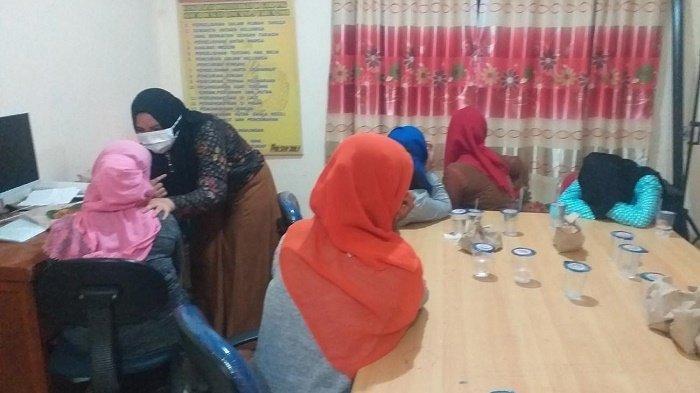 7 Wanita Rohingya Diamankan di Bireuen Dibawa ke Mapolres Setempat
