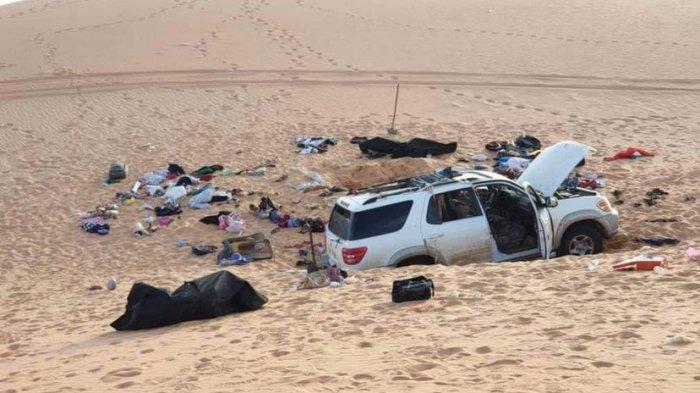 8 Anggota Keluarga Ditemukan Tewas di Tengah Gurun di Libya, 13 Lainnya Hilang