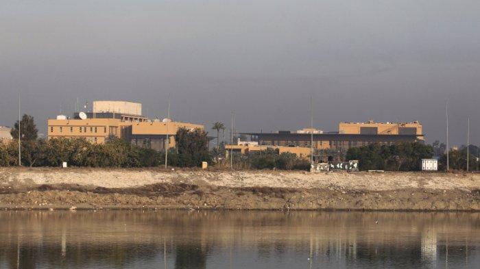 8 Roket Targetkan Kedutaan Besar AS di Baghdad, Jelang Peringatan Meninggalnya Qassem Soleimani