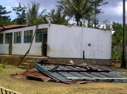 Puting Beliung Terjang Puluhan Rumah  di Bangka