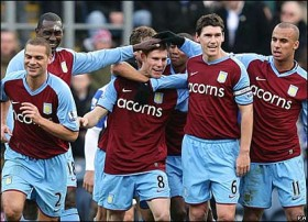 Aston Villa Gilas West Bromwich Albion 1-0