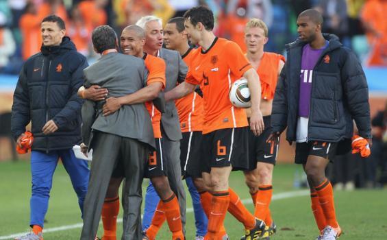 Bert van Marwijk dan pemain Belanda