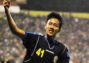 Dendi Santoso, striker Timnas Indonesia