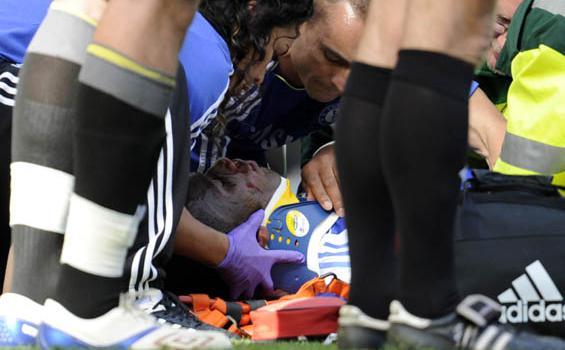 Didier Drogba Gegar Otak Ringan