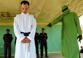 Tidak Hanya Hukuman Penjara, Empat Pelaku Rudapaksa di Aceh Utara juga Dihukum Cambuk