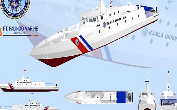 Bakorkamla Segera Namai Kapal Patroli 48 Meter
