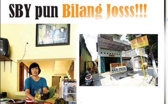 SBY pun Bilang Josss!