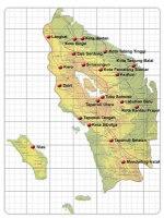 Petas Sumatera Utara