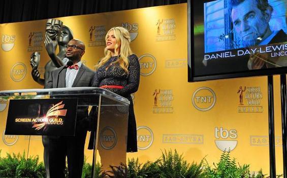 Nominator Aktor dan Aktris Terbaik Annual Screen Actors Guild Awards 2012