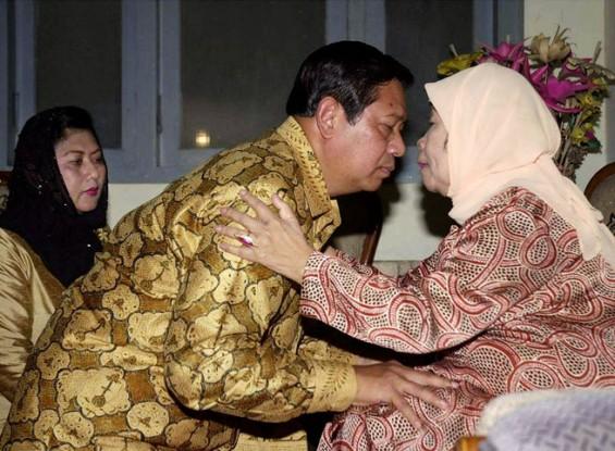 SUNGKEM- Presiden Susilo Bambang Yudhoyono dan Ibu Negara