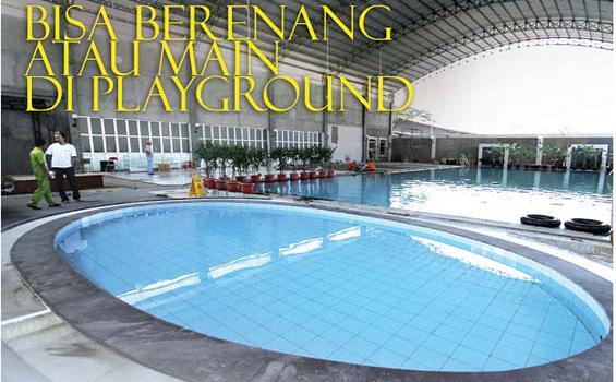 Bisa Berenang atau Main di Playground