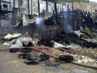 Matoha Lupa Matikan Tungku, Pulang-pulang Rumahnya Habis Terbakar