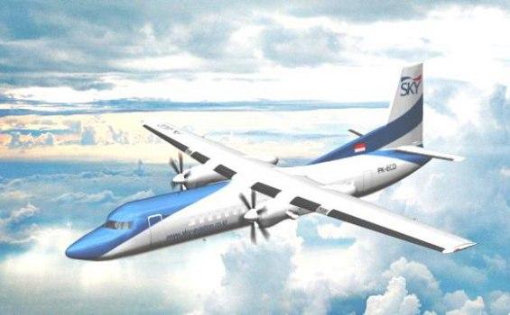 Sky Aviation Terbang Perdana Palembang Jambi Kerinci Tribunnews Com Mobile