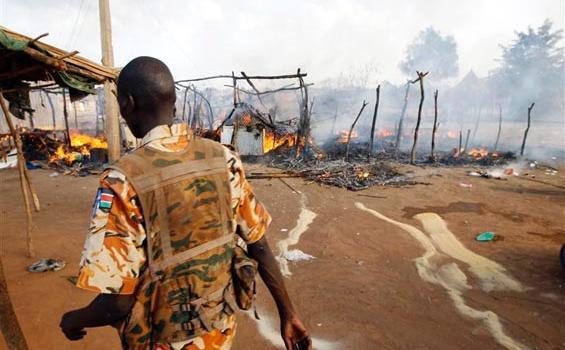 – Pesawat-pesawat perang Sudan melakukan serangan udara terhadap Sudan Selatan,