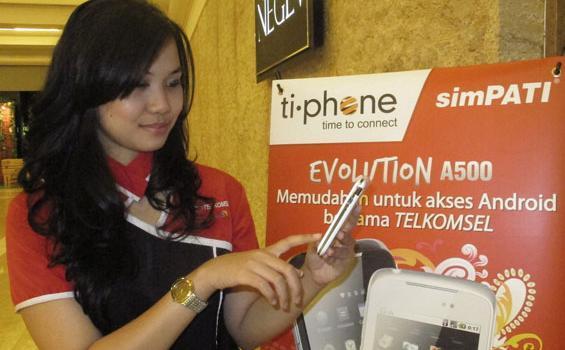 Tiphone Mobile Dirikan Perusahaan Patungan Bersama BlackBerry