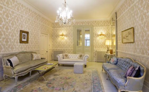 Wallpaper Klasik Membuat Ruangan Jadi Lebih Hidup - Tribunnews.com Mobile
