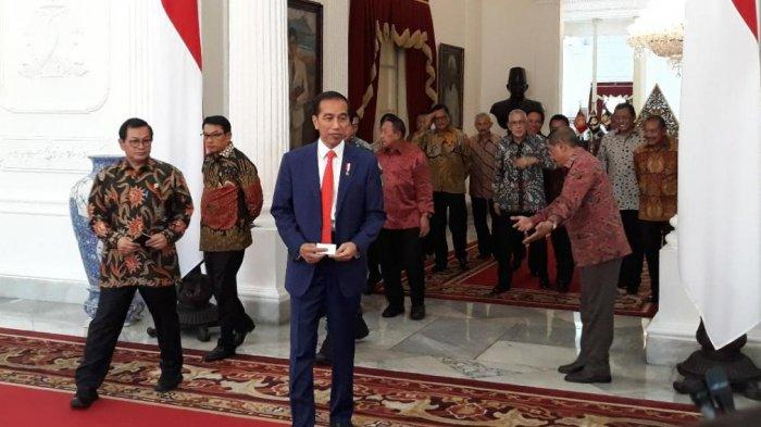 Gatot Nurmantyo Hadiri Rapim TNI/Polri di Istana Negara