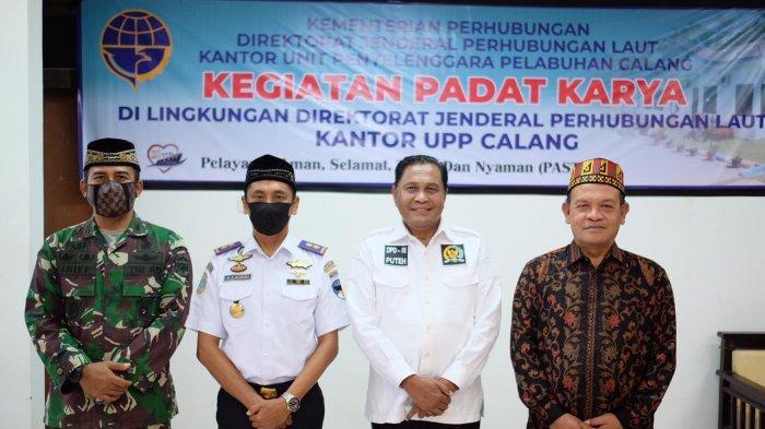 Berkunjung ke Aceh Jaya, Senator Abdullah Puteh Ajak Kabupaten Ini Lebih Maju