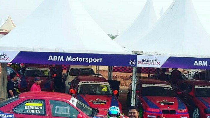 ABM Motorsport Siap Torehkan Prestasi di Kejuaraan Balap BSD City Grand Prix