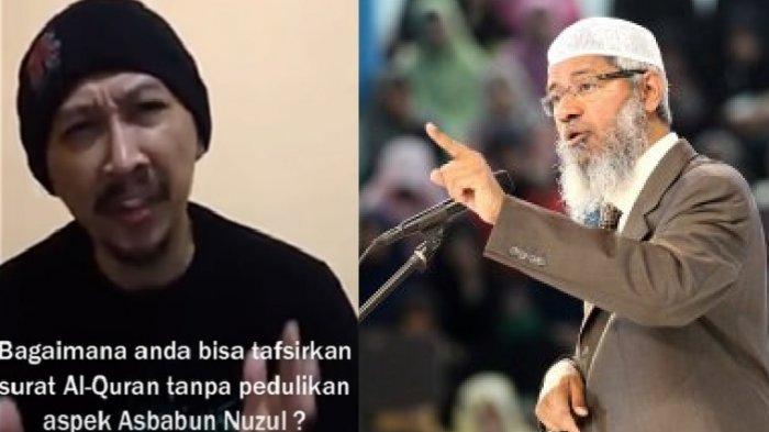 Ustaz Abu Janda Bikin Video Terbuka untuk Dr Zakir Naik, Netizen Emosi Karena Hal Ini