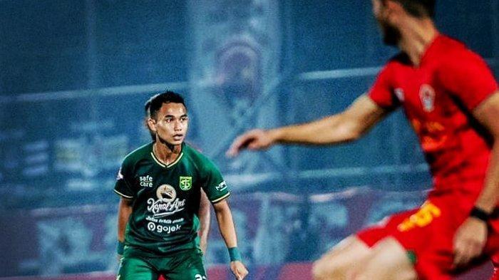 Abu Rizal Maulana, pemain bertahan Persebaya Surabaya