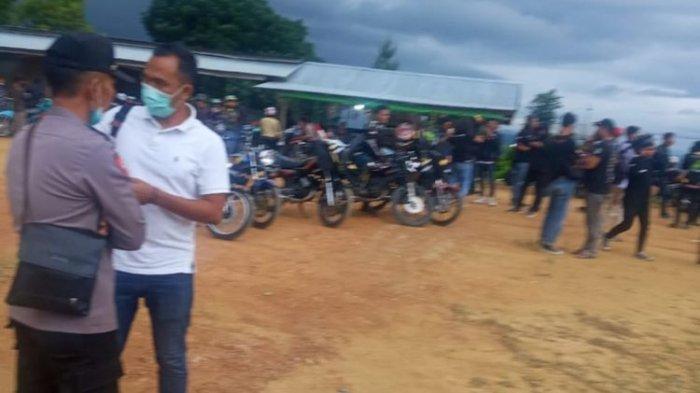 Petugas Bubarkan Pertemuan Komunitas 800 Pengendara RX King di Tanah Datar Sumbar