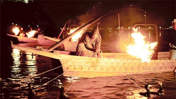 Acara memancing ikan pakai burung kormoran di Sungai Nagara (Nagaragawa Ukai) baru akan dimulai 1 Juni 2020.