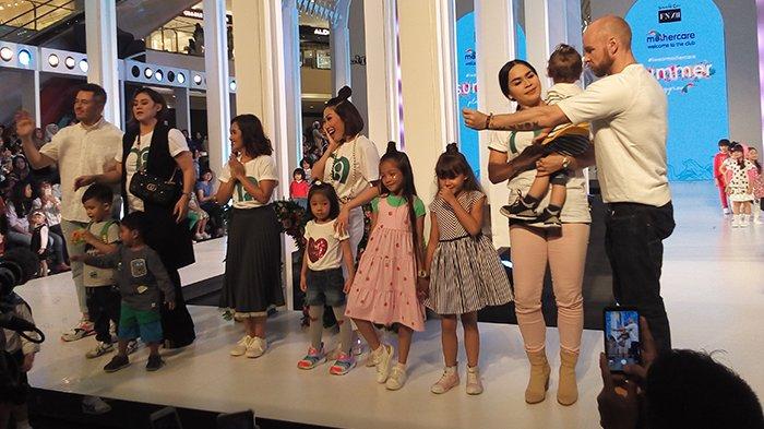 Perkenalkan Dunia Fashion Anak, Mothercare Gandeng beberapa Artis Tanah Air