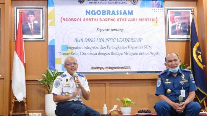 Ikut Meriahkan Harhubnas 2021, Disnav Kelas I Surabaya Gelar