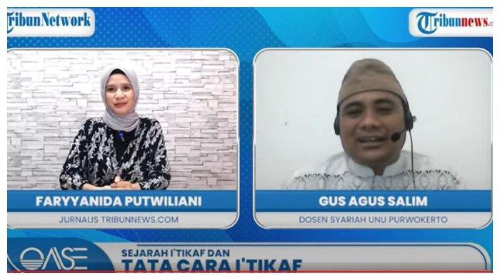 Acara OASE: Cara Itikaf di Bulan Ramadan dan Keutamaannya di Tengah Pandemi.