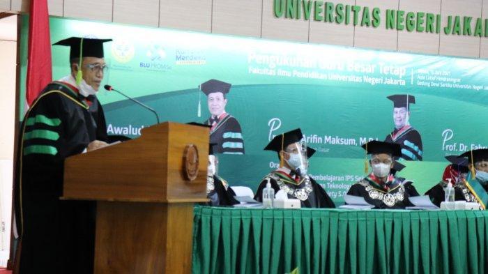 Guru Besar Diminta Beri Solusi Permasalahan Dunia Pendidikan di Indonesia