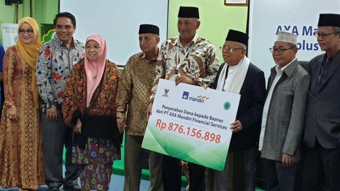 Maruf Amin Minta Industri Keuangan Syariah Salurkan Dana Sosial Lewat MUI