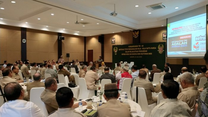 Wakasad: Netralitas TNI Adalah Harga Mati