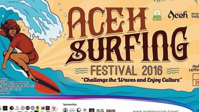 Aceh Surfing Festival 2016 Diubah Jadi Penggalangan Dana