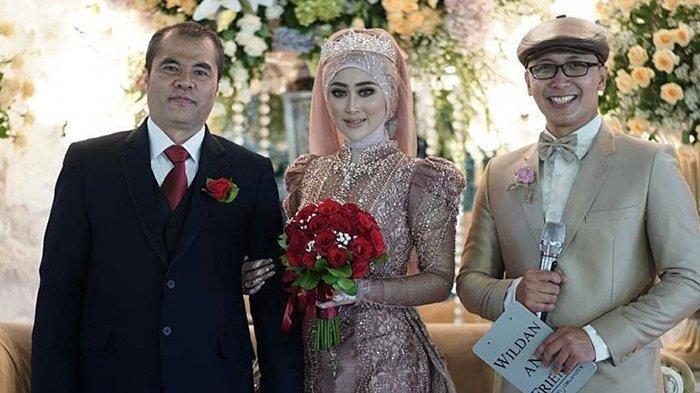Aceng Fikri menikah (Instagram @bagas_mc)