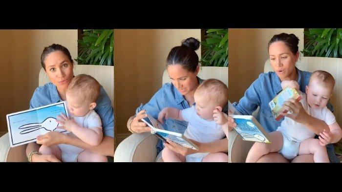 Putra Meghan & Harry, Archie Genap 1 Tahun, Begini Video Lucunya Sedang Belajar dengan Sang Ibu