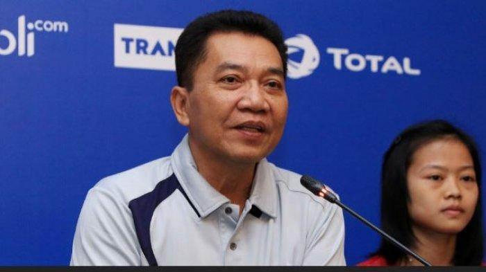 Achmad Budiharto selaku Sekretaris Jenderal PP PBSI