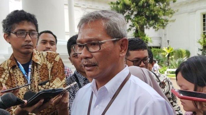 Juru Bicara Pemerintah untuk penanganan virus Corona, Achmad Yurianto(KOMPAS.com/Ihsanuddin) Pasien positif Covid-19 di Indonesia bertambah 7 orang, kini total ada 34 kasus virus corona di Tanah Air.