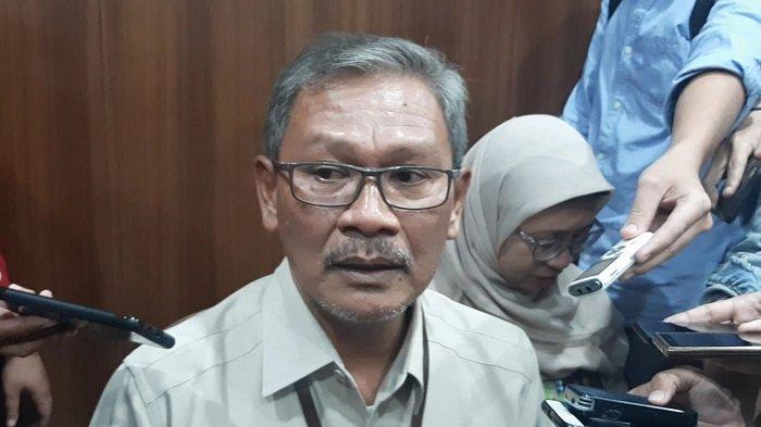 Sekretaris Direktorat Jenderal Pencegahan dan Pengendalian Penyakit (P2P) Kemenkes Achmad Yurianto di Kementerian Kesehatan, Jakarta Selatan, Senin (10/2/2020).