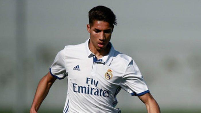 Real Madrid Lepas Achraf Hakimi ke Inter Milan dengan Bayaran Sekitar Rp  653 Miliar - Tribunnews.com Mobile