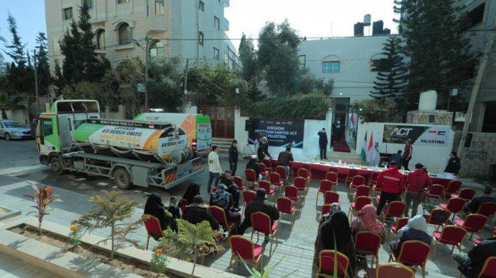 ACT Buka Kantor di Gaza, Bukti Dukung Penuh Rakyat Palestina