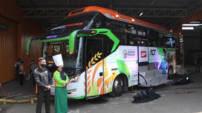 ACT Luncurkan Humanity Food Bus, Siap Sajikan hingga 5.000 Porsi Setiap Hari